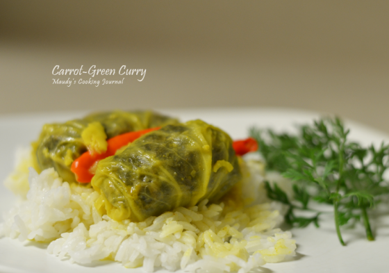 carrot greens curry