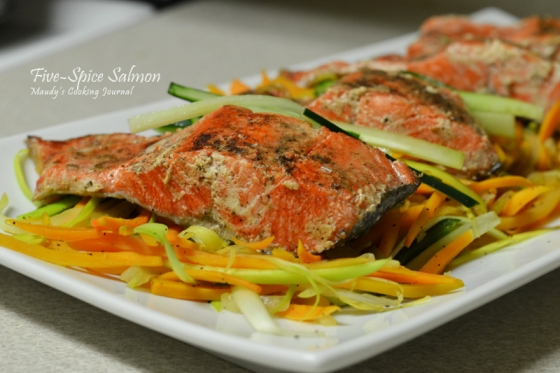 five spice salmon