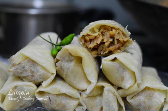 indonesian spring roll