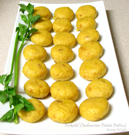 perkedel indonesian potato patties