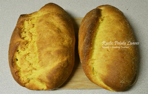 rustic potato loaves