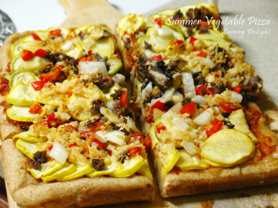 Summer Vegetable Pizza