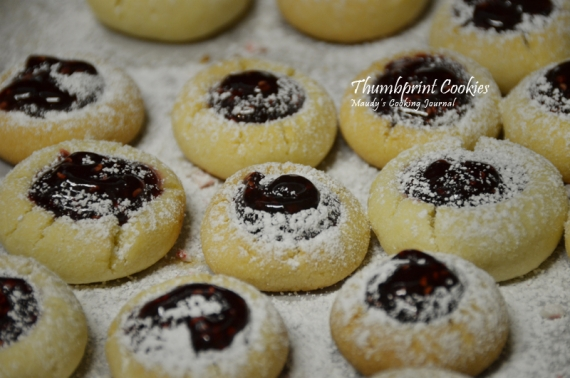thumbprint cookie