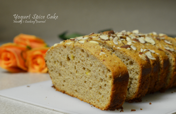 yogurt spice cake